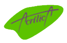 Brinde de Acrílico Redonda Jacareí - Brinde de Acrílico para Eventos - ACRILICA